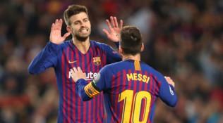 """Barcellona, Piqué: """"La clausola di Messi non mi spaventa"""""""