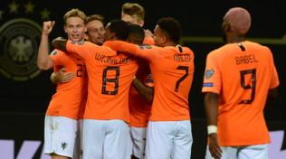 Qualificazioni Euro 2020: l'Olanda rimonta e batte la Germania 4-2