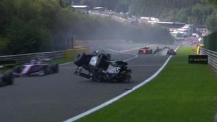 """Formula 2, Correa è in coma indotto: """"Condizioni critiche ma stabili"""""""