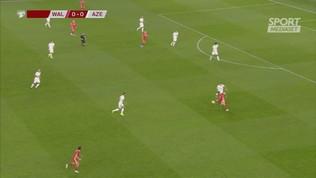 Galles, Bale al top: provoca il comico autogollonzo dell'Azerbaigian, poi decide di testa