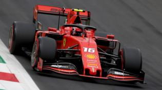 F1 Italia: qualifica farsa a Monza, ma in pole c'è la Ferrari di Leclerc