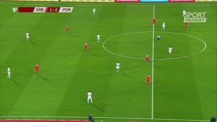 Euro 2020, Serbia-Portogallo: Ronaldo gol, scatto alla... Inzaghi