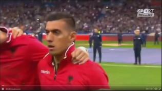 Francia-Albania, doppia gaffe: l'inno e... le scuse