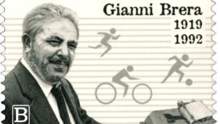 Cento anni fa nasceva Gianni Brera: un francobollo per ricordare il grande Giuàn