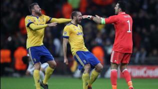 Juventus, torna la BBC: Barzagli nello staff di Sarri, Chielliniin panchina con le stampelle