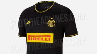 Inter, ecco la terza maglia 2020