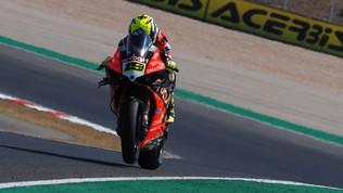 Superbike a Portimao, Bautista vince gara-2 davanti a Rea