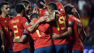 Qualificazioni Euro 2020: Spagna a punteggio pieno, Il Lichtenstein ferma la Grecia