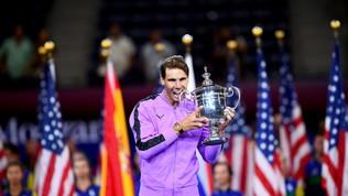 Nadal conquista gli US Open: Medvedevko