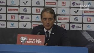 """Italia, Mancini: """"Il pari non sarebbe stato giusto"""""""