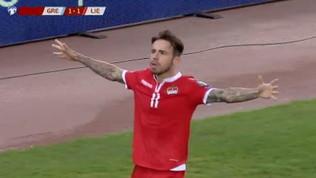"""Liechtenstein, Salanovic-gol: pari """"storico"""" con la Grecia"""