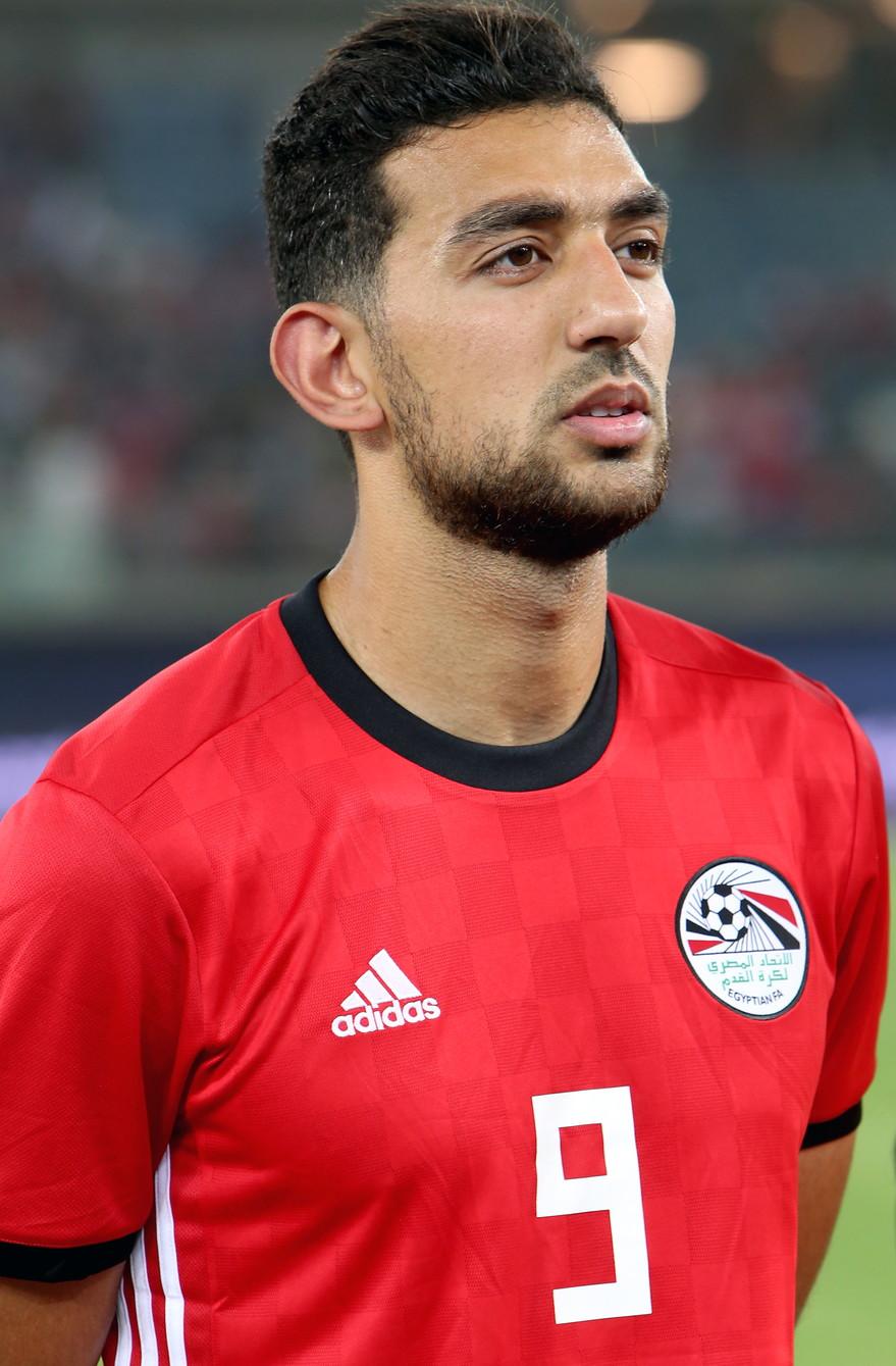 AHMED HASSN - l'attaccante egiziano si aggiudica il primo posto con 184 presenze in nazionale