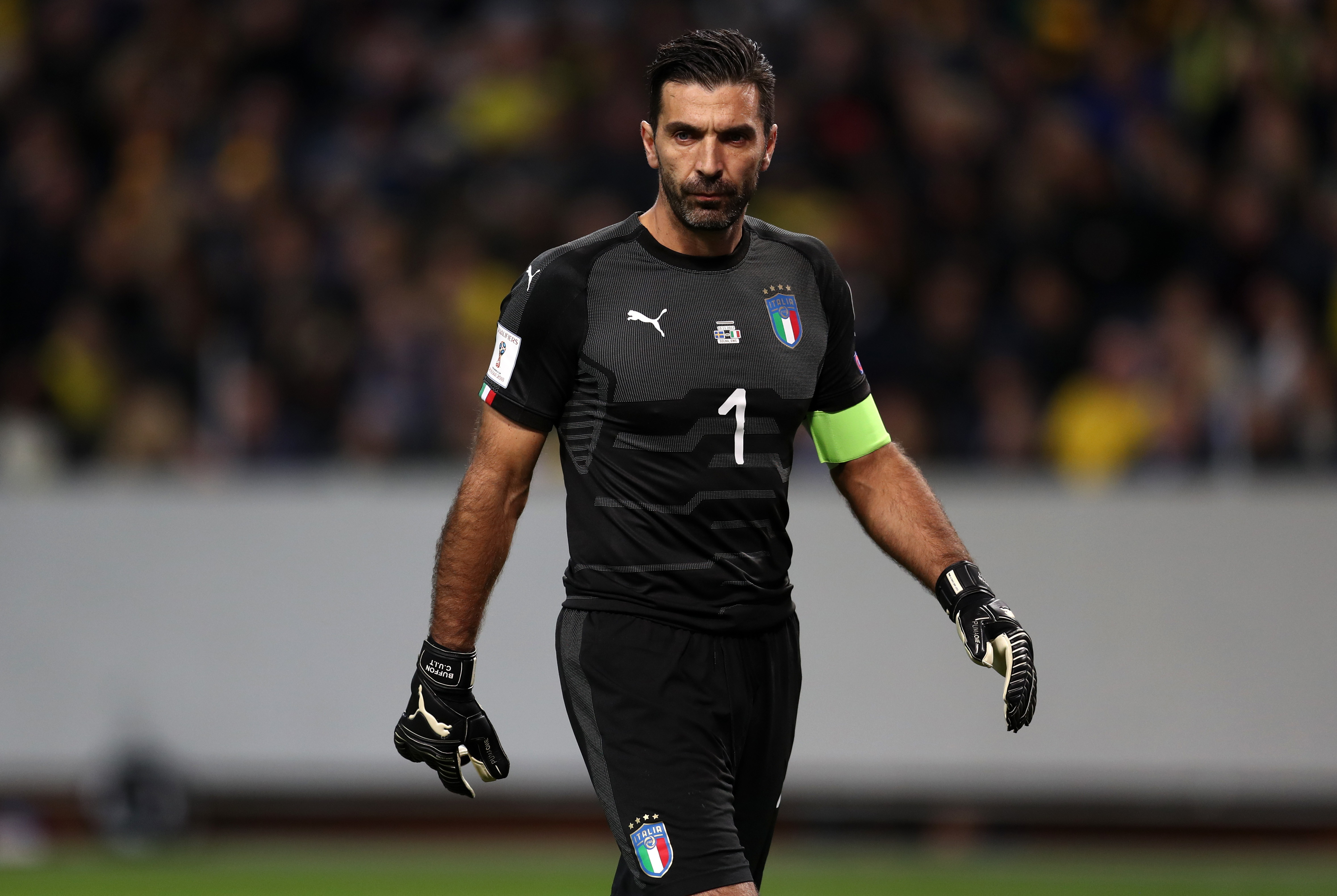 GIANLUIGI BUFFON - il portiere italiano è fuori dal podio per un pelo con le sue 176 presenze in maglia azzurra