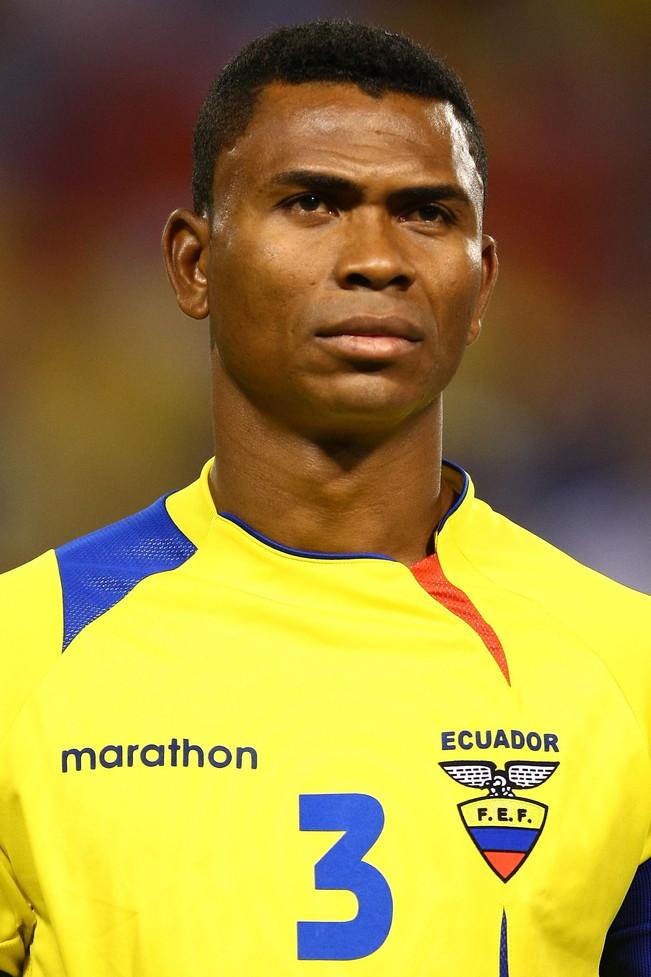 IVAN HURTADO - ha indossato la maglia dell'Ecuador per 168 volte