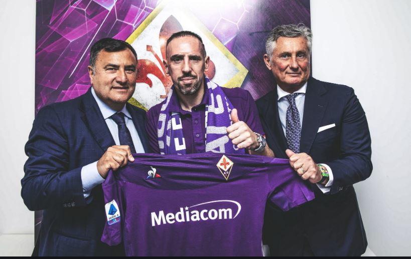 20. Franck Ribery (Fiorentina – 4 mln)