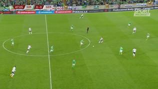 Irlanda del Nord-Germania 0-2: gli highlights