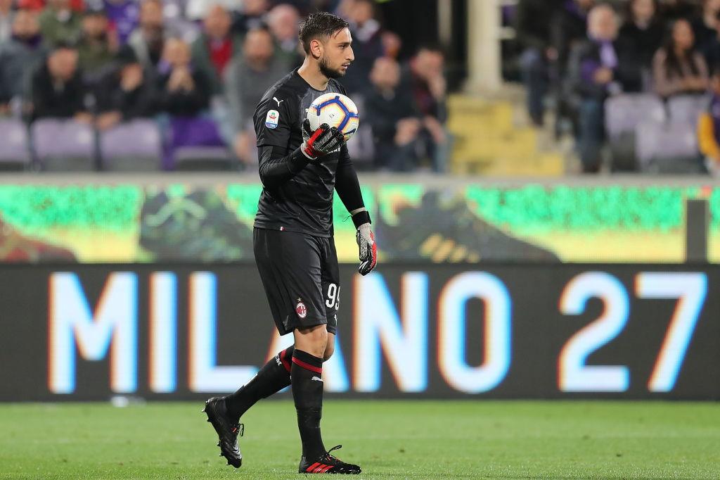 4) Milan: 115 milioni di euro (G. Donnarumma il più pagato: 6 milioni)