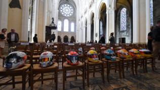 Formula 2, i funerali di Anthoine Huberta Chartres