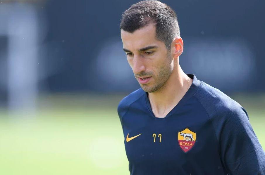 Dopo la conferenza stampa di presentazione,Henrix Mkhitaryan ha svolto il primo allenamento con la Roma agli ordini di Fonseca: ecco l'accog...