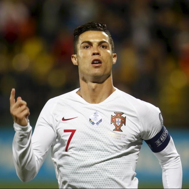 Ronaldo, un altro record: 25 gol nelle qualificazioni europee