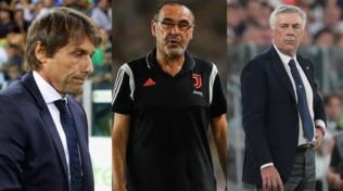 Serie A, gli ingaggi degli allenatori: Conte stacca tutti