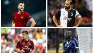 Serie A, la carica dei numeri 9: morale e stato di forma opposti