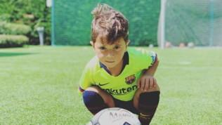 Messi Jr compie 4 anni e festeggia i gol come papà