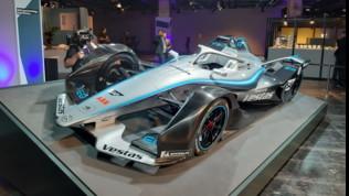 Formula E, la livrea della Mercedes EQ Silver Arrow 01 a Francoforte