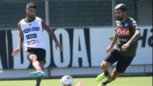 Napoli, buone notizie per Ancelotti: Insigne recuperato