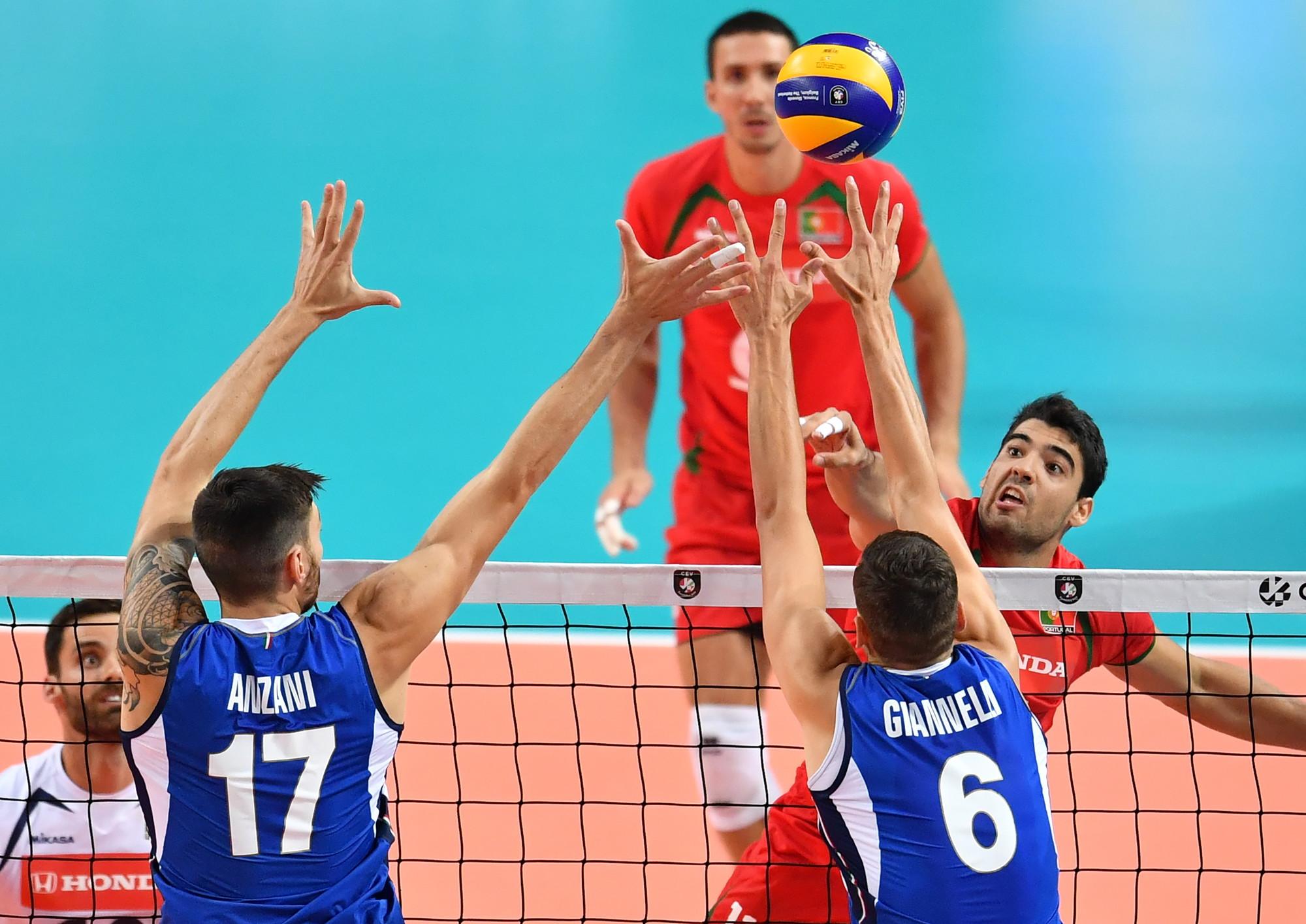 Nessun problema per l'Italia del ct Gianlorenzo Blengini all'esordio negli Europei 2019 di volley: il Portogallo viene infatti schiantato in t...