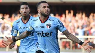 """San Paolo, Dani Alves: """"Potevo tornare alla Juve"""""""