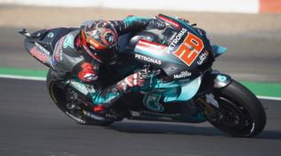 MotoGP San Marino, Quartararo parte forte nelle Libere 1