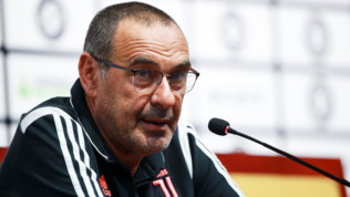 """Juve, Sarri: """"Pesante stare fuori, in un mese ho capito perché qui si vince"""""""