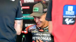 """MotoGP San Marino, Quartararo: """"Valentino dice che sono una bega? Che onore!"""""""