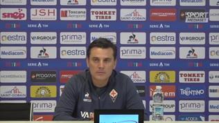 """Fiorentina, Montella: """"Ribery gioca, scriviamo la storia"""""""