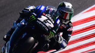 MotoGP San Marino:Vinales in pole, pasticcio Marquez-Rossi