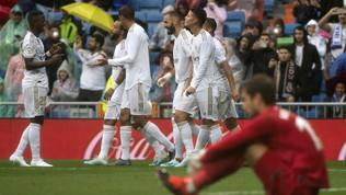 Liga: prosegue la favola di Ansu Fati, cinquina del Barcellona. Real ok con il brivido, cade l'Atletico