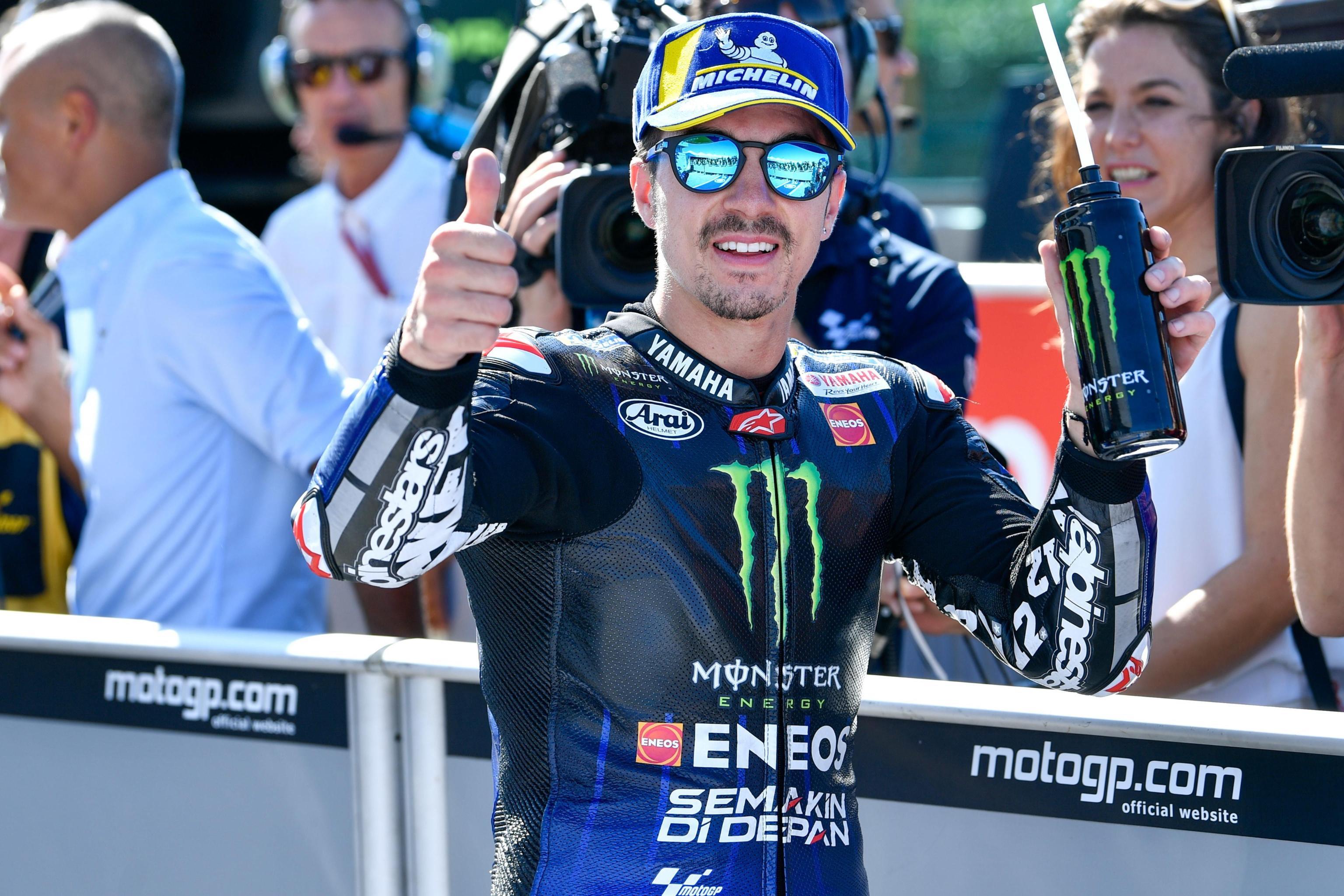 Lo spagnolo della Yamaha scatterà in pole nel GP di San Marino, 6° Dovizioso, 7° Rossi