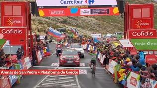 Vuelta: tappa a Pogacar, Roglic ipoteca la maglia rossa