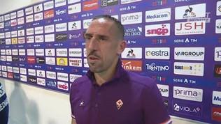 """Ribery parla già italiano: """"Sono contento, ma che caldo"""""""