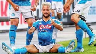 """Napoli, Mertens dedica il gol all'amico Dolly: """"Ha una pancia come un pallone"""""""