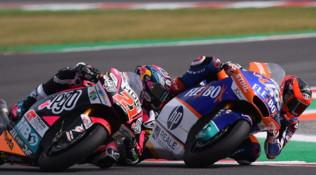 Moto2 San Marino: vince Fernandez, che beffa per Di Giannantonio