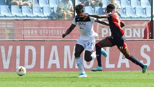 Serie A, Genoa-Atalanta 1-2, Duvan Zapata decide al 95'