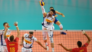 Europei Volley: Italia-Romania 3-1
