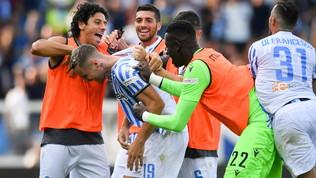 Spal-Lazio: le foto del match