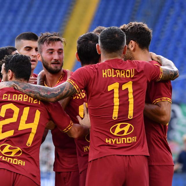 Roma travolgente con il Sassuolo, ma la difesa balla ancora