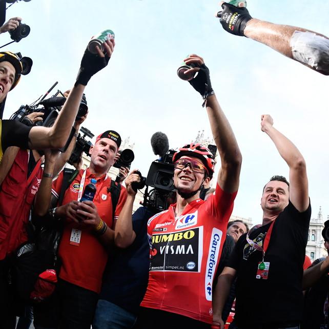 Vuelta: ultima tappa a Jakobsen, Roglic re del giro spagnolo