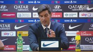 """Fonseca: """"Ho visto la Roma che voglio"""""""
