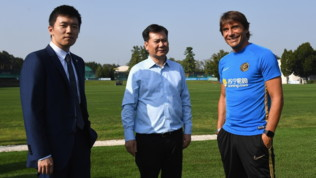 Inter, Zhang Jindong ad Appiano Gentile
