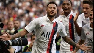 Psg, Neymar: ridotte a due le giornate di squalifica in Champions